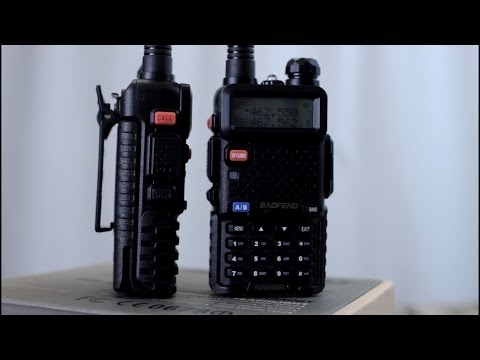 Baofeng UV-5R Dual Band HAM Radios, Best Budget Survival Rad