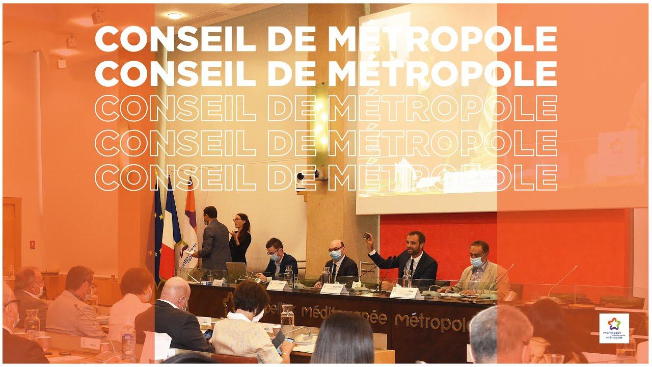 Conseil de Métropole - 15 juillet 2020