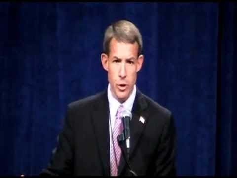 2nd District congressional candidate John Archer at Iowa Republican Party state convention 6-16-12