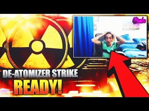the best NUKE REACTIONS in Infinite Warfare.. (BEST DE-ATOMIZER STRIKE REACTIONS)