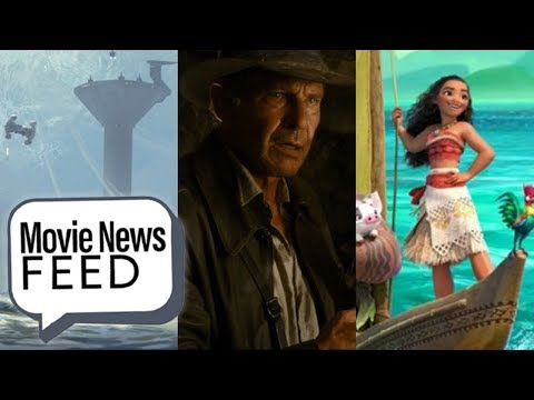 Indy 5 Will Be Ford's Last, Moana Tops Wonder Woman - Movie News Feed April 5th 2018