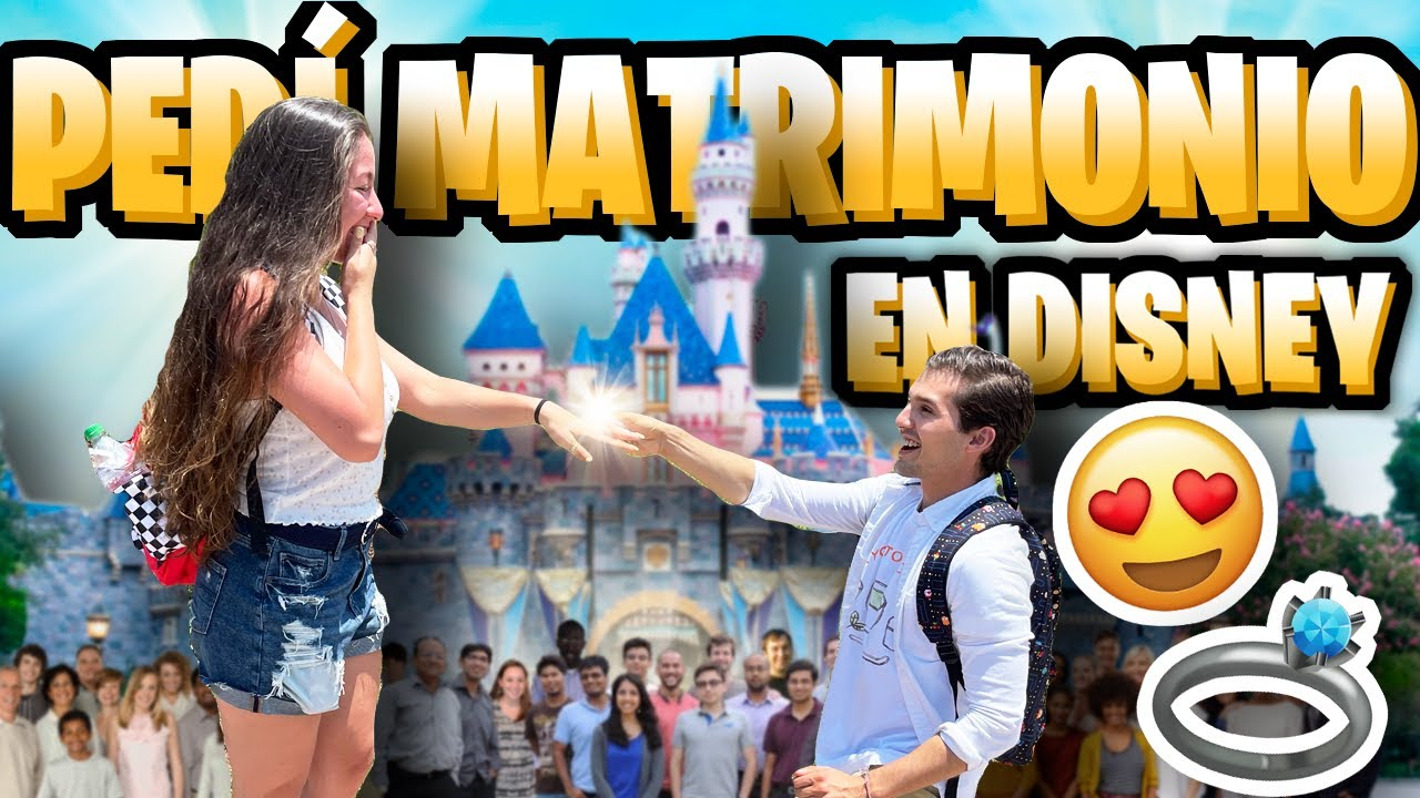 PEDÍ MATRIMONIO EN DISNEY !!! / Memo Aponte