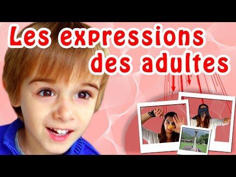 HUGO FAIT SON SHOW 7 : LES EXPRESSIONS DES ADULTES....- ANGIE LA CRAZY SÉRIE -