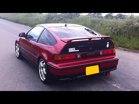 Honda crx with launch control