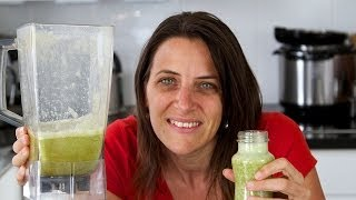 Quick & Easy Green Smoothie - Grab And Go Breakfast!