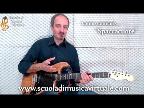 Lezioni chitarra: Spaccacuore.