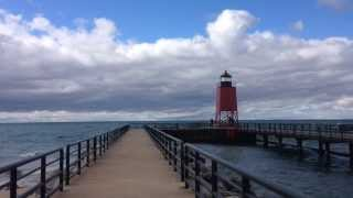 Lake Charlevoix light tower