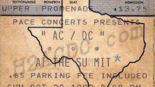 AC/DC: The Summit,Houston,Texas,Usa 30/10/1983 (SoundBoard)
