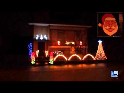 Pontenure, luci natalizie a ritmo di musica