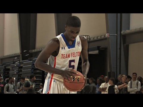 6'3 Jalek Felton is a Floor General - 2017 UNC commit