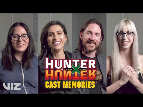Memories with Erica Mendez, Cristina Vee, Matt Mercer, and Erika Harlacher | Hunter x Hunter | VIZ