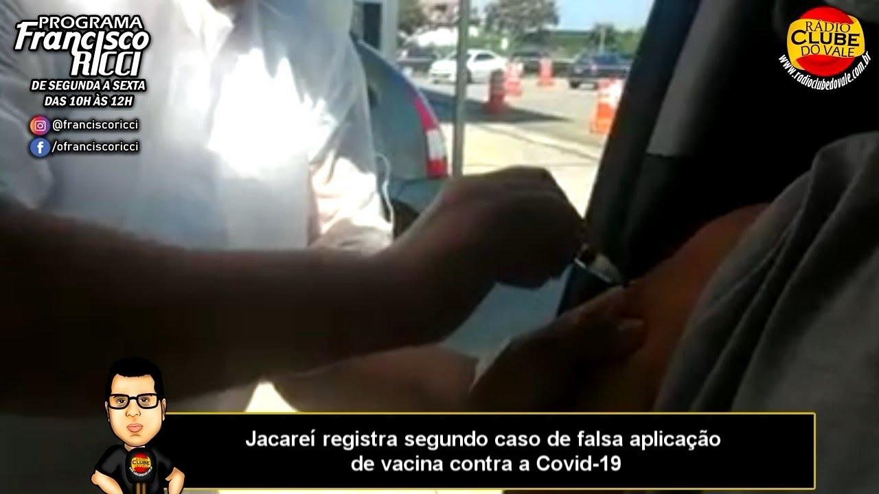 Jacareí registra segundo caso de falsa aplicação de vacina contra a Covid-19