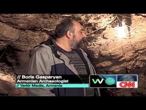 CNN Wine making facility found in Areni cave complex