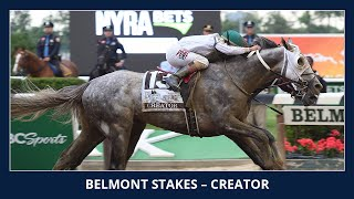 Creator - 2016 Belmont Stakes(Race replay of the 148th Running of the Belmont Stakes, won by Creator, at Belmont Park., 2016-06-11T23:00:31.000Z)