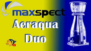 Aeraqua Skimmer: The First Dual Needle Wheel In-Sump Protein Skimmer from Maxspect!