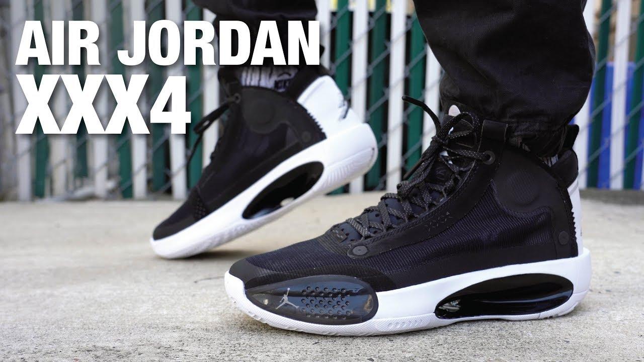 Air Jordan 34 Lifestyle Review On Feet Youtube