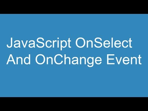 javascript-onselect-and-onchange-event