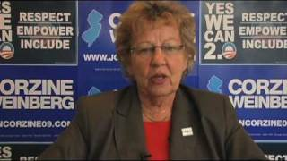 Senator Loretta Weinberg Thanks September Surge Volunteers