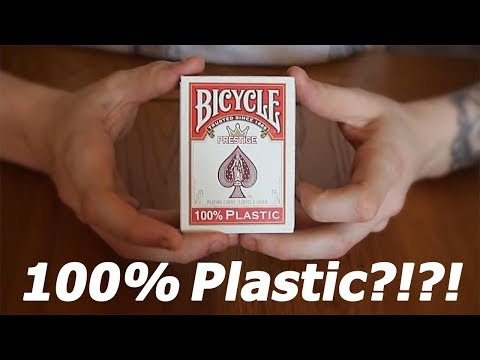 100% PLASTIC BICYCLE CARDS ?!?!? | Deck Review | Cardfreak