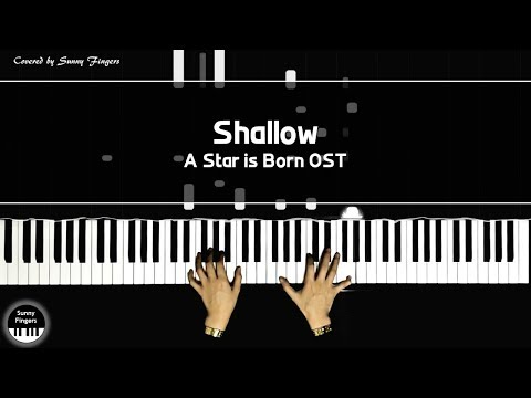 Shallow - A Star is Born OST, Lady Gaga & Bradley Cooper | piano cover by Sunny Fingers