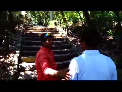北陸福井の心霊スポット雄島のジャングルを迷走する日本人大好きバングラデシュ人