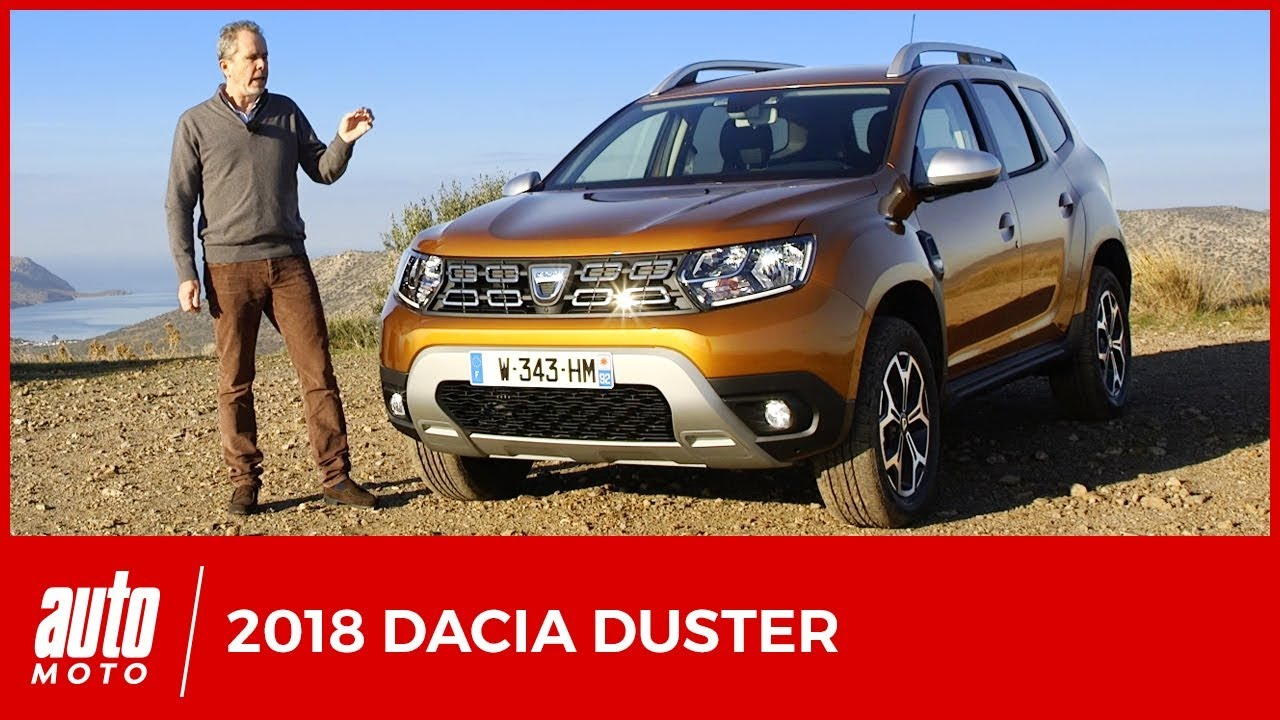 nouveau dacia duster 2018 essai impossible n 39 est pas. Black Bedroom Furniture Sets. Home Design Ideas