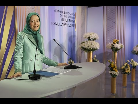 MARYAM RAJAVI SUCCESSFUL RELOCATION OF CAMP LIBERTY RESIDENTS, A MAJOR SETBACK FOR THE CLERICAL REGI