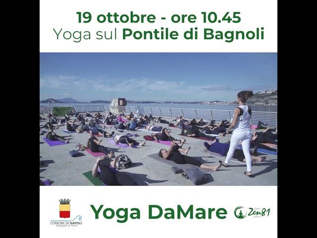 Yoga sul Pontile di Bagnoli 2018