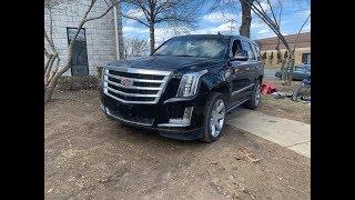 2017 Cadillac Escalade Со Страхового Аукциона Или Как Сэкономить 30000$ При Покупке . Авто Из Сша.