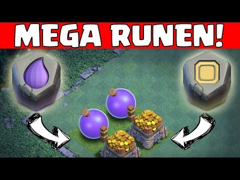 DIE MEGA RUNEN! ☆ Clash of Clans ☆ CoC