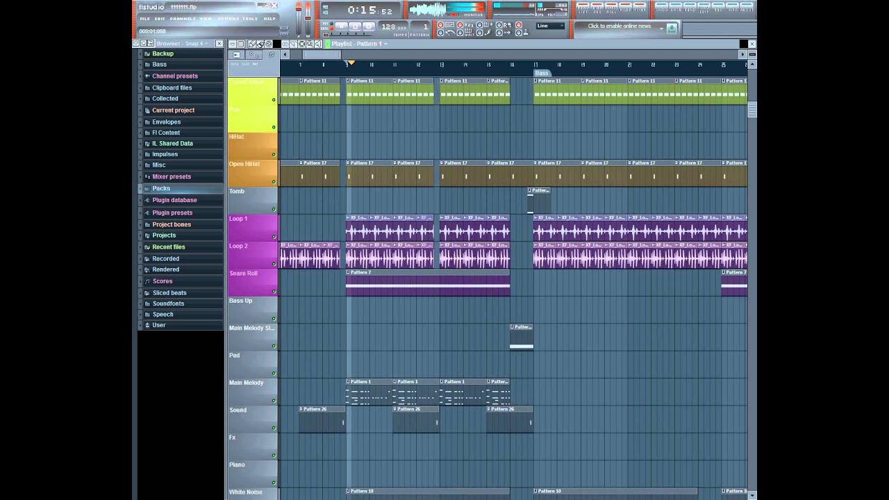 Dotson 39 s tutorial how to structure an electro house song for House music bpm
