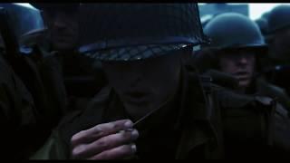 "ТОП МОМЕНТЫ из фильма ""Спасти Рядового Райана"" 1998 под музыку  Rammstein - Mein Herz Brennt"