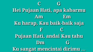 Download lagu chord gitar pujaan hati - kangen band