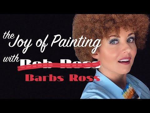 The Joy of Painting w/Barbs Ross | ASMR