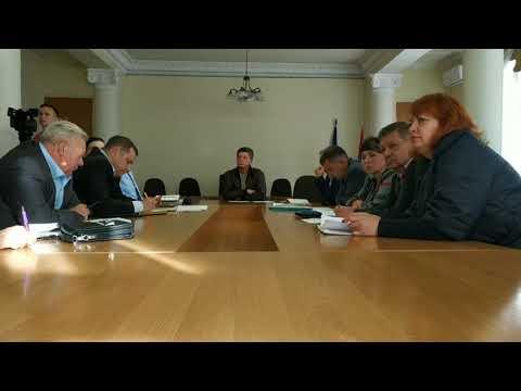 Мэр города Новомосковска провел первое заседание по подготовке к зиме 27.09.2019