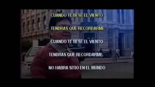 CLAUDIO VALLEJO TENDRAS QUE RECORDARME KARAOKE