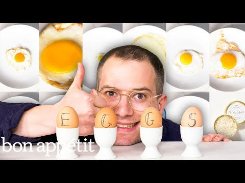 12 Types Of Eggs, Examined And Cooked | Bon Appétit