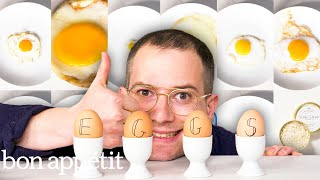 Download 12 Types of Eggs, Examined and Cooked | Bon Appétit Mp3 and Videos