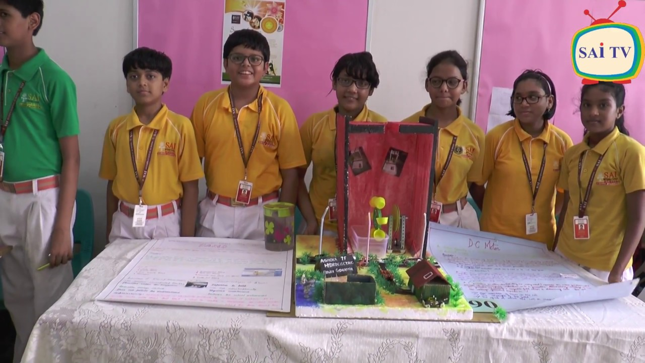 science exhibition for class vi vii viii sai international