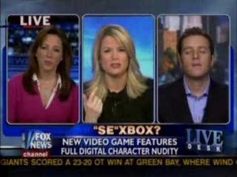 FOX NEWS Mass Effect Sex Debate