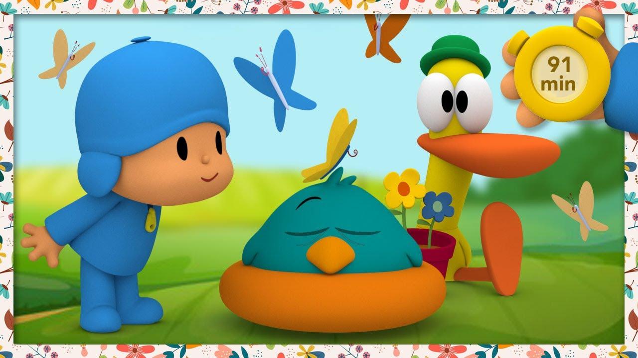 🍃 POCOYO AND NINA - Nature's Superheroes [91 min] | ANIMATED CARTOON for Children | FULL episodes