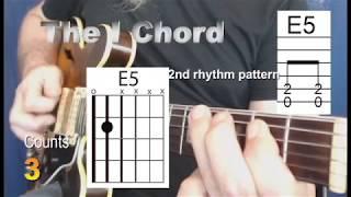 Open E Blues Rhythm Beginner Lesson