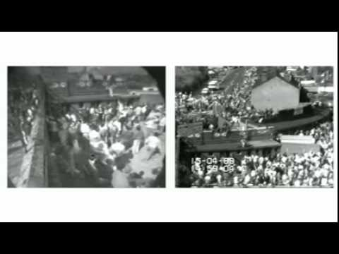 Hillsborough inquests shown video footage of how disaster unfolded on 15 April 1989