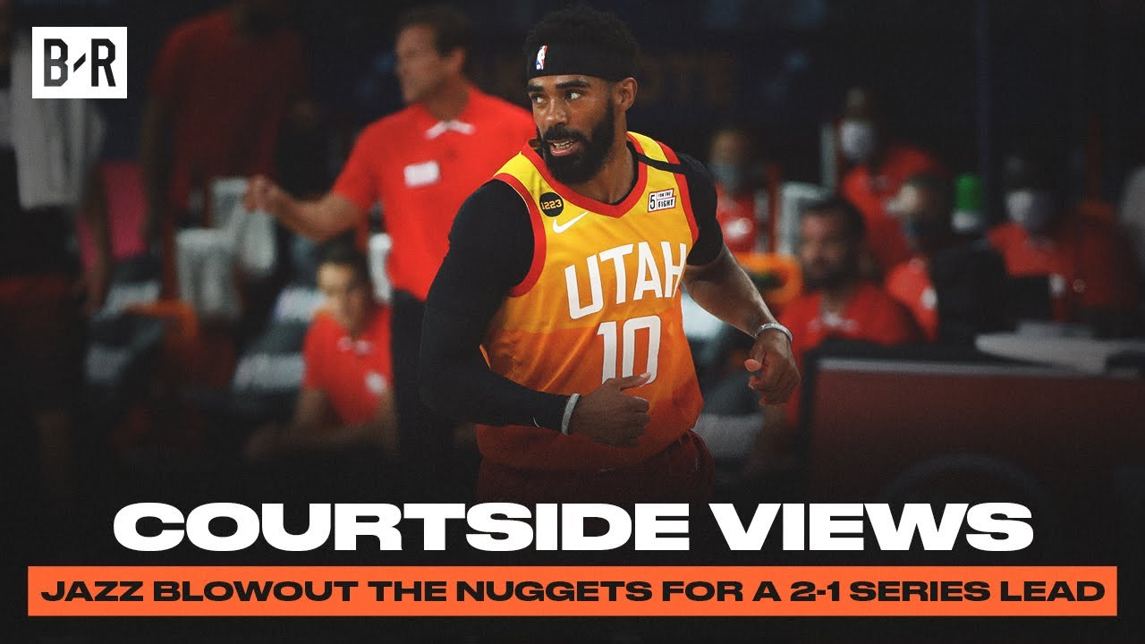 Courtside Views | Mike Conley Makes His Return From Quarantine For Jazz Blowout Win