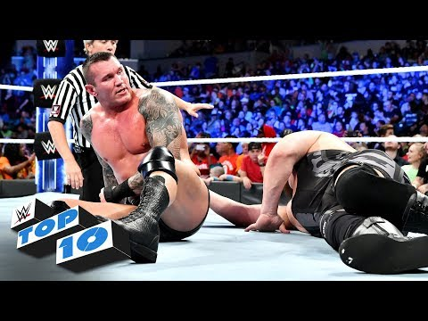 Top 10 SmackDown LIVE moments: WWE Top 10, October 9, 2018