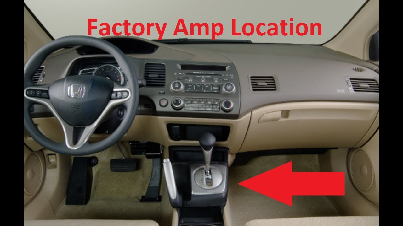 1997 honda civic si stereo wiring diagram the story of an hour plot factory amp location how to remove 2006 ex youtube