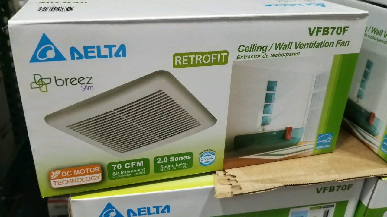 Costco Delta Breez Dc Motor Ceiling