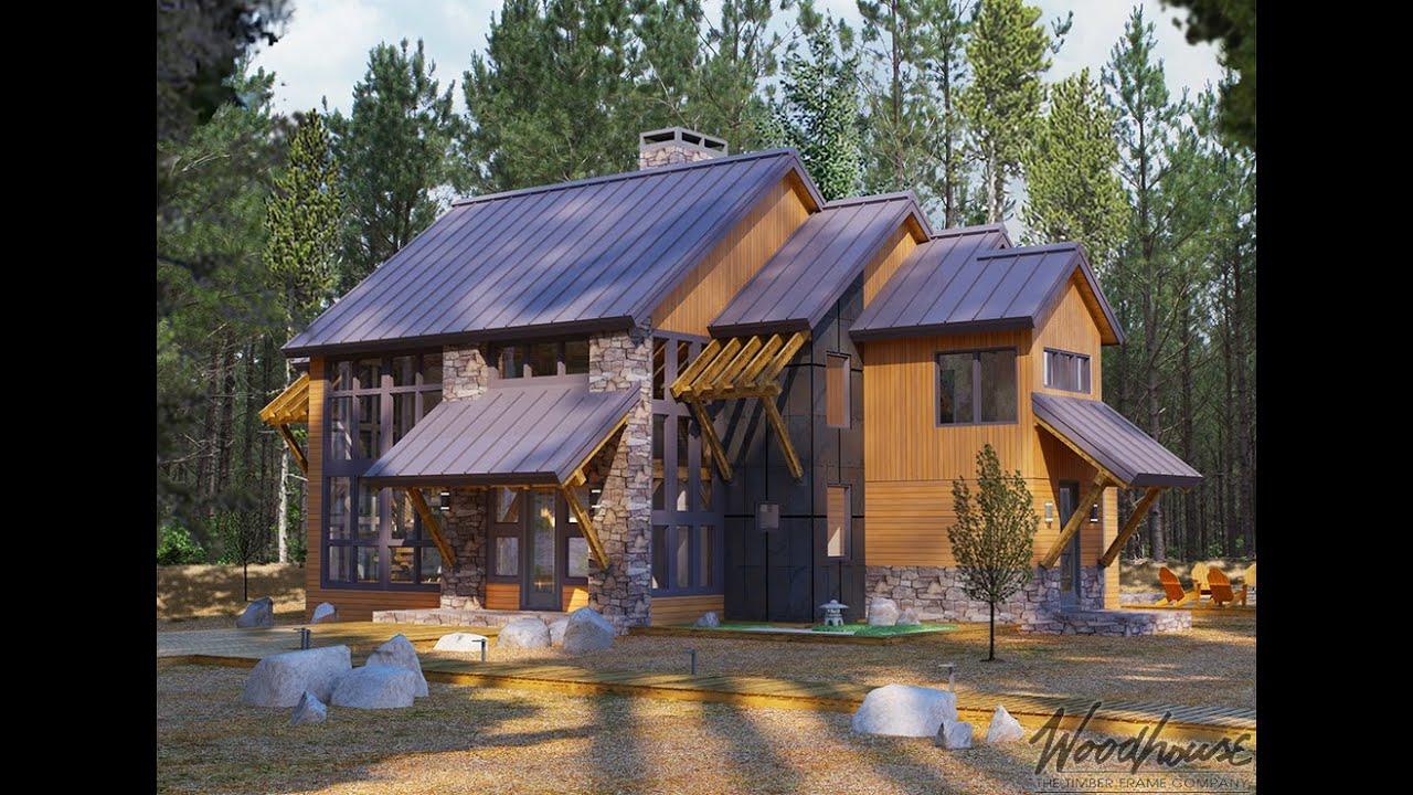 Timber Frame/Post & Beam Homes - Mountain Log Homes Of