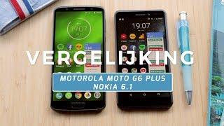 Motorola Moto G6 Plus vs Nokia 6.1 review (Dutch)