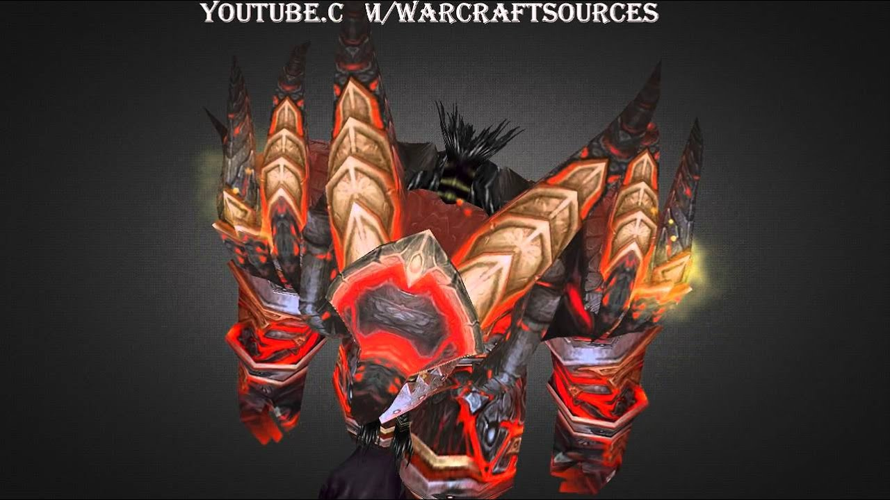 Orc Warrior Tier 13 armor set - T13 - Colossal Dragonplate ...